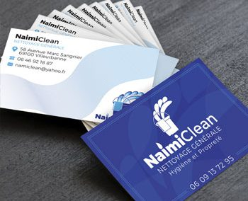 Business Card Cleaning Company